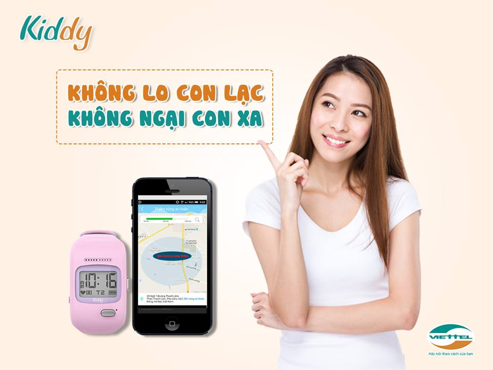 kiddy khong lo lac con